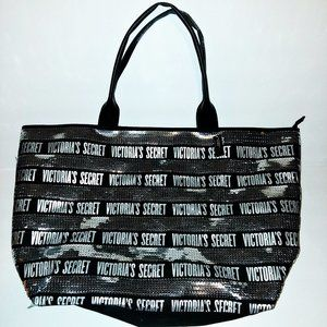 Victoria Secret Sequin Tote Bag NWT